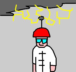 vendedor de pára raio