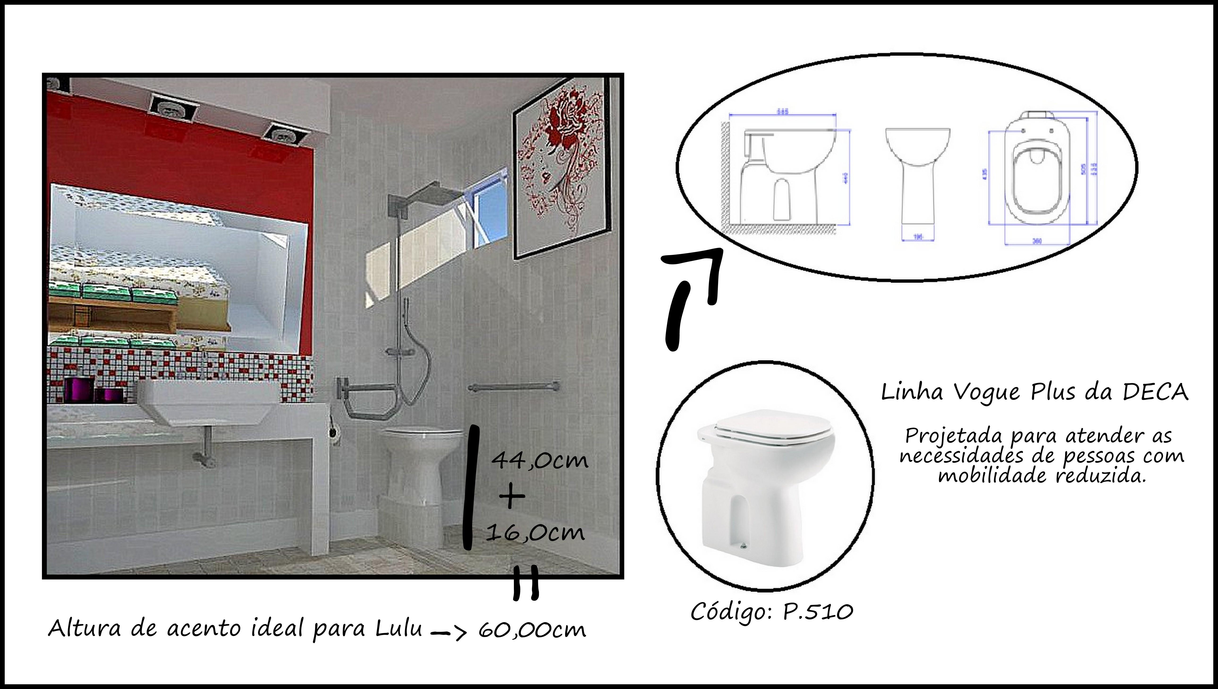 Aqui estão outros produtos que vendem no mercado e que podem ser  #791B1B 5160x2920 Banheiro Acessivel Projeto