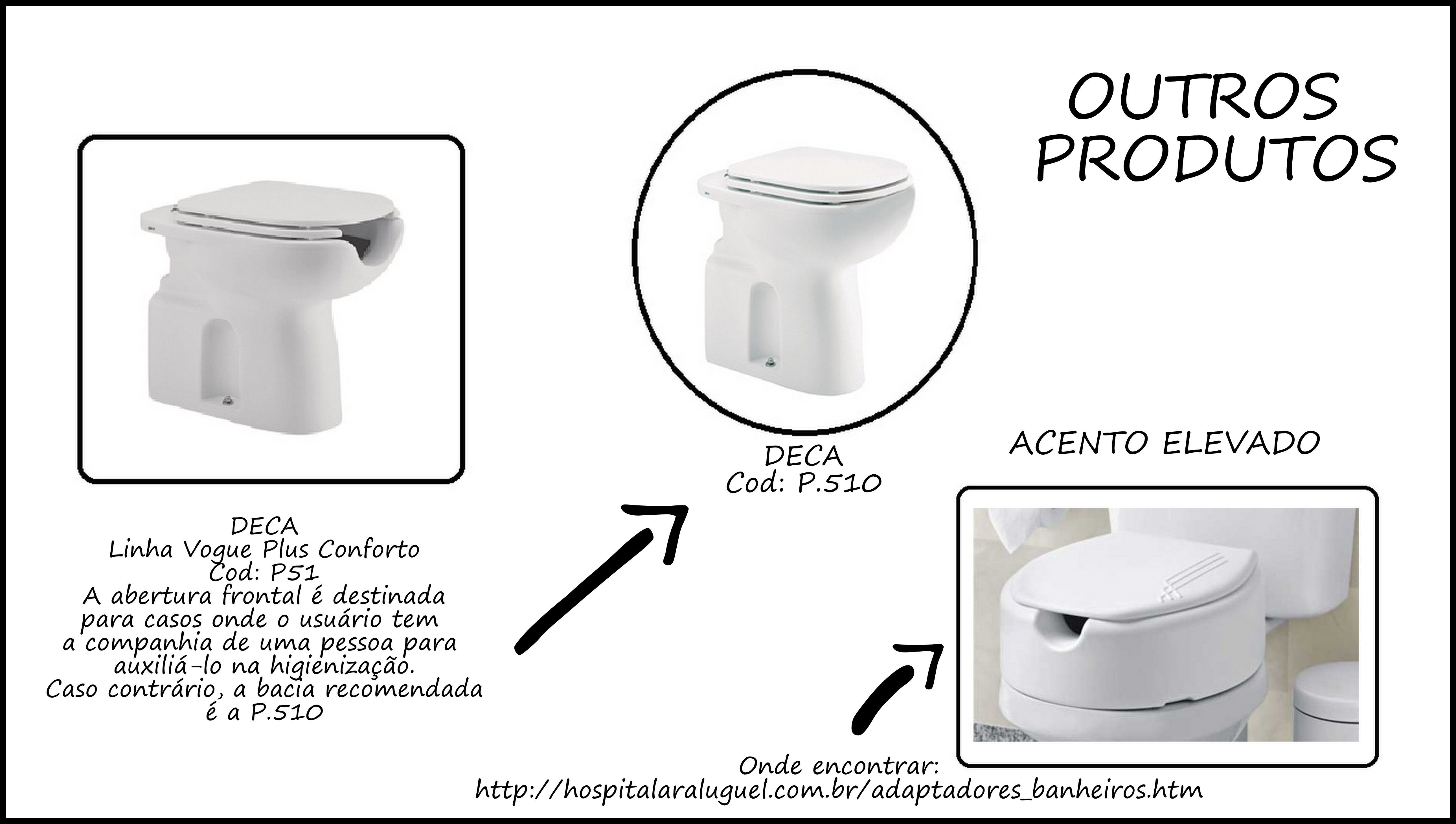Aqui estão outros produtos que vendem no mercado e que podem ser  #6F6A5C 5160x2920 Banheiro Acessivel Para Cadeirante