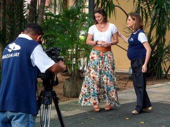 Entrevista para o programa Amazônia Mulher