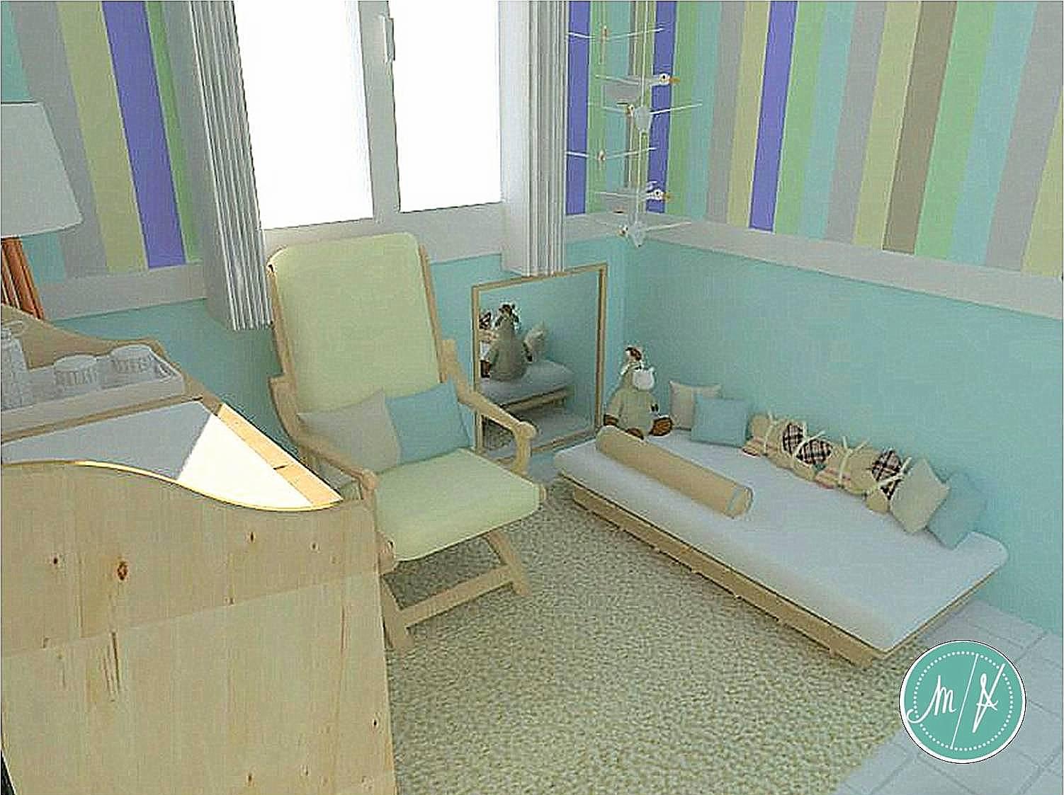 Projetinho lindo de quarto de bebê sem berço  #66492D 1502x1123